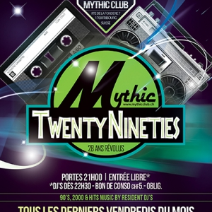 Flyer TWENTYNINETIES +28