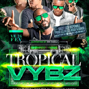 Flyer Tropical Vybz