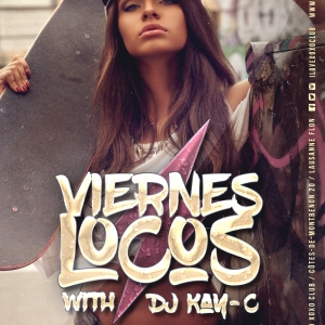Flyer Viernes Locos 2nd Floor