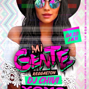 Flyer Mi Gente 2nd Floor