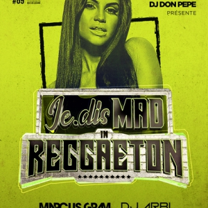 Flyer MAD IN REGGAETON